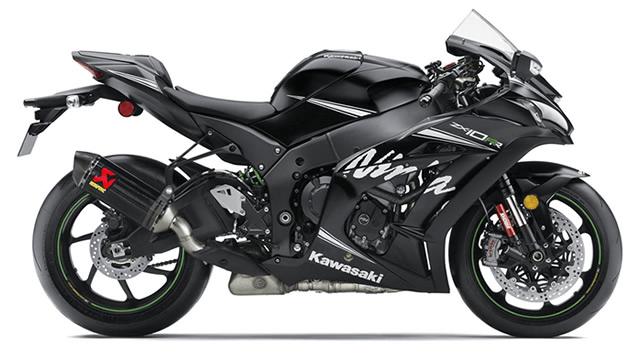 Kawasaki Motorcycle - Iain Mutch