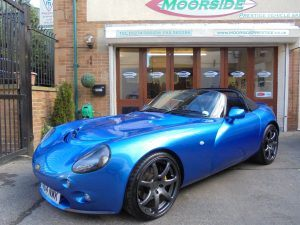Fabulous car bought in Edinburgh now available for sale at Moorside Prestige in Bingley a fast appreciating TVR